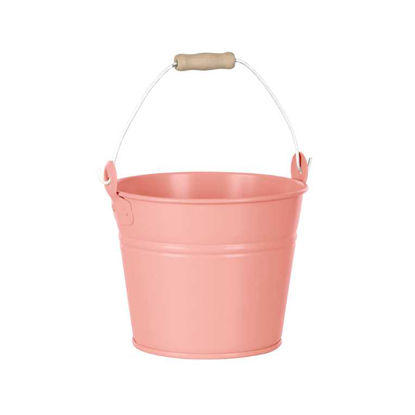 Изображение Ведерко ZINC Розовый H:14 см. 10218004