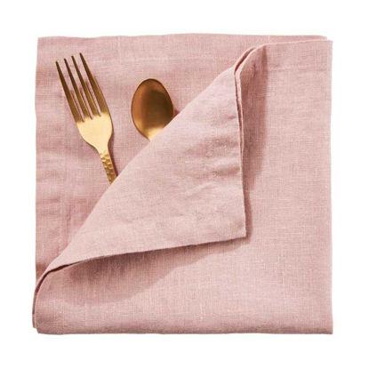 Изображение Салфетка RIGA Розовый 42x42 см. L:42 см. 10218012