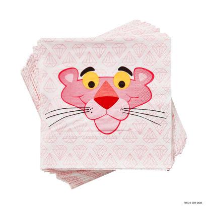 Изображение Салфетки неароматизированные PINK PANTHER Розовый 33х33 см. 10218019