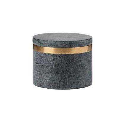 Изображение Емкость для хранения мелочей NORDIC Черный H:8 см. 10218036
