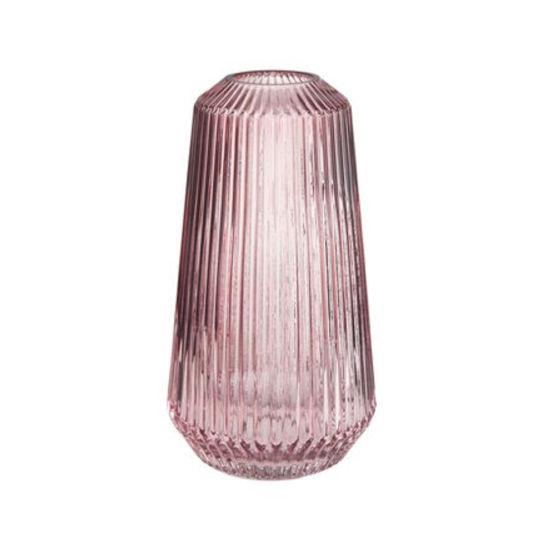 Зображення Ваза LILY Рожевий H:25 см. 10218087