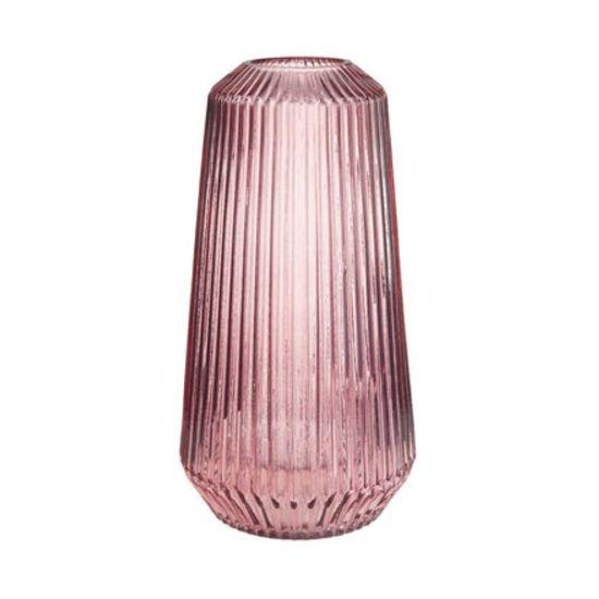 Изображение Ваза LILY Розовый H:30 см. 10218088