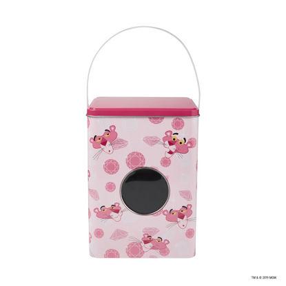 Зображення Контейнер для зберігання прального порошку PINK PANTHER Рожевий 15х15х20.8 см. 10218124
