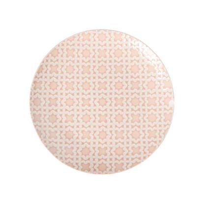 Зображення Тарілка PORTIMAO Рожевий O:27 см. 10218165
