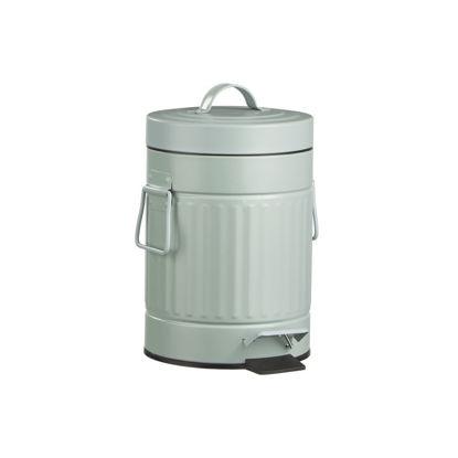 Зображення Відро для сміття KICK IT Зелений H:24 см. 10218217