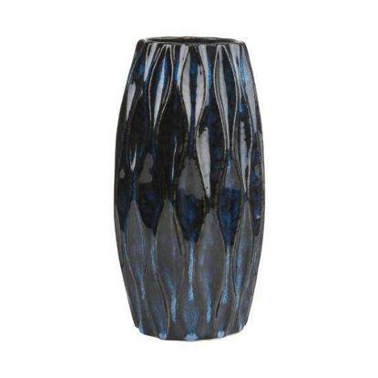 Зображення Ваза RUNA Синій в поєднанні H:22 см. 10218275