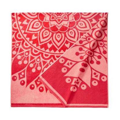 Зображення Рушник пляжний WAIKIKI Червоний 90х180 см. 10218397