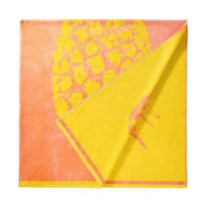 Зображення Рушник пляжний WAIKIKI Жовтий в поєднанні 90х180 см. 10218399