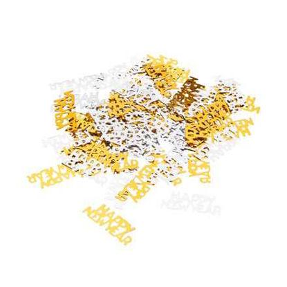 Изображение Конфетти декоративные CELEBRATION Золотой 12.7x10.3 см. H:0.3 см. L:12.7 см. 10218558