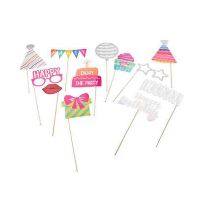 Изображение Набор для празднования дня рождения HAPPY BIRTHDAY Комбинированный 39х22.5х2.5 см. 10218571