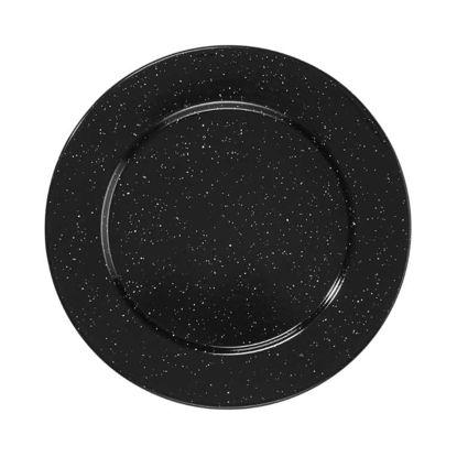 Зображення Тарілка декоративна ICELAND Чорний O:32 см. 10218620