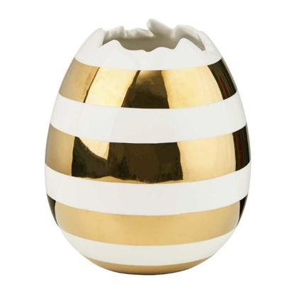 Изображение Ваза EASTER Золотой в сочетании H:16.5 см. 10218642