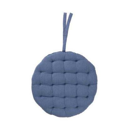 Зображення Подушка на стільчик SOLID Синій O:42 см. 10218653