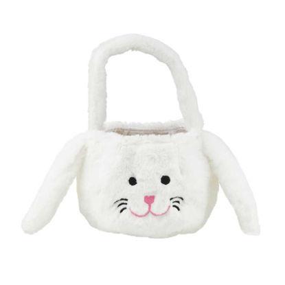 Зображення Кошик пасхальний EASTER Білий O:15 см. H:13 см. 10218746