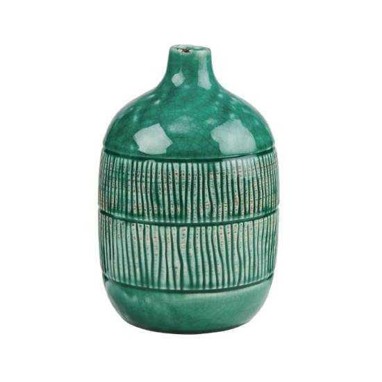 Изображение Ваза JARRON Зеленый H:20 см. 10218798