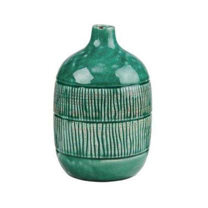 Зображення Ваза JARRON Зелений H:20 см. 10218798