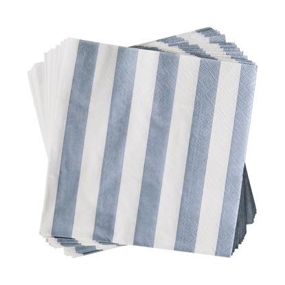 Зображення Серветки неароматизовані APRES Синій 33х33 см. 10218872