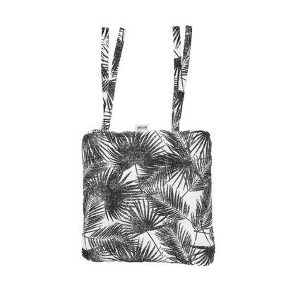 Изображение Подушка на стул SHINTO Черный в сочетании 35х37 см. 10218923