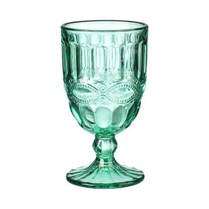 Зображення Келих для вина MONIQUE Зелений V:220 мл. 10218949