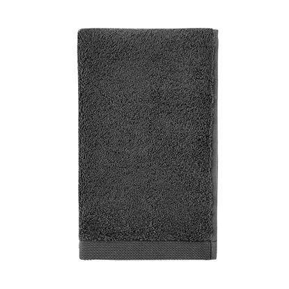 Изображение Полотенце махровое FABULOUS Черный 50х30 см. 10219165