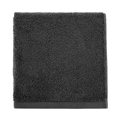 Зображення Рушник махровий FABULOUS Чорний 50х100 см. 10219170