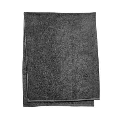 Зображення Рушник махровий FABULOUS Чорний 80х200 см. 10219179