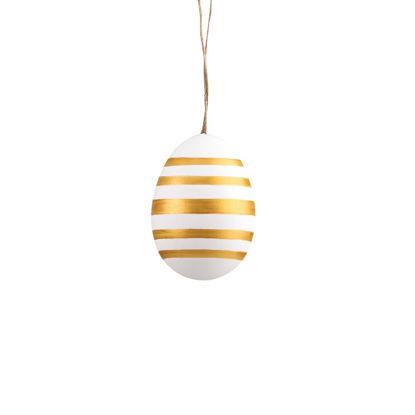 Зображення Прикраса декоративна EASTER Золотий в поєднанні O:4 см. H:6 см. 10219188