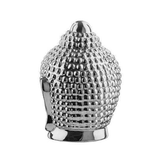 Зображення Голова будди декоративна SHINTO Срібний H:16.2 см. 10219270