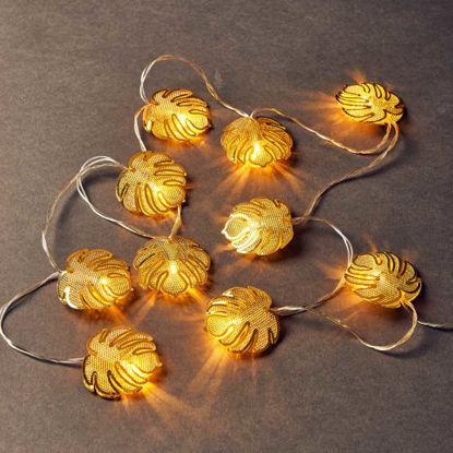 Зображення Гірлянда декоративна MIAMI LED Золотий L:165 см. 10219294