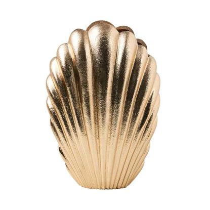 Изображение Ваза декоративная GOLDEN NATURE Золотой H:25 см. 10219313