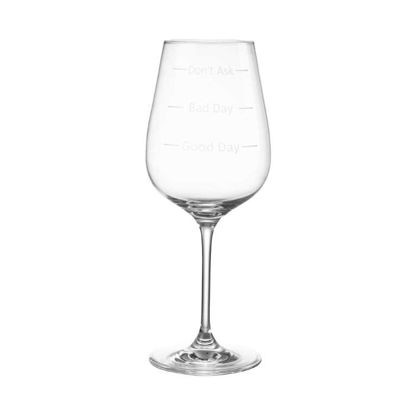 Зображення Келих для вина DON'T ASK Прозорий V:480 мл. 10219348