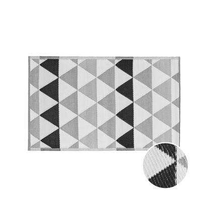 Изображение Ковер для пола COLOUR CLASH Черный в сочетании 90x150 см. 10219369