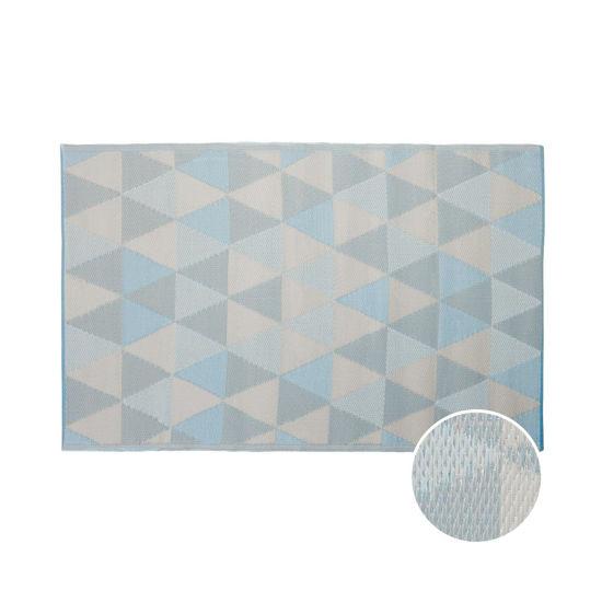 Зображення Килим для підлоги COLOUR CLASH Блакитний в поєднанні 120х180 см. 10219372