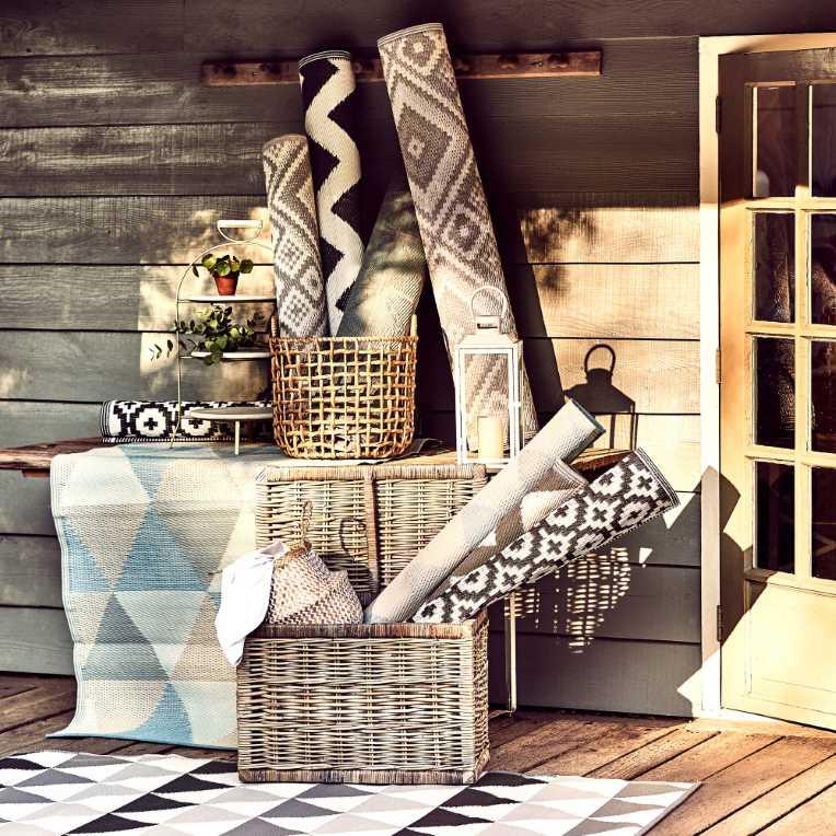 Зображення Килим для підлоги COLOUR CLASH Сірий 180x120 см. L:180 см. 10219373