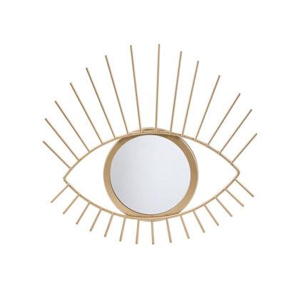 Зображення Дзеркало EYE-CATCHER Золотий 28х27х1.5 см. 10219427