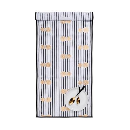 Зображення Підставка під тарілки PINEAPPLE Чорний в поєднанні 50х150 см. 10219505