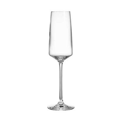 Зображення Келих для шампанського WINE  DINE Прозорий V:250 мл. 10219506