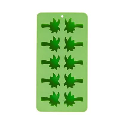 Изображение Форма для льда COOL DOWN Зеленый 21x10.8x2 см. 10219572