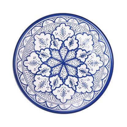 Зображення Тарілка CASBAH Синій O:28 см. H:3.7 см. 10219576