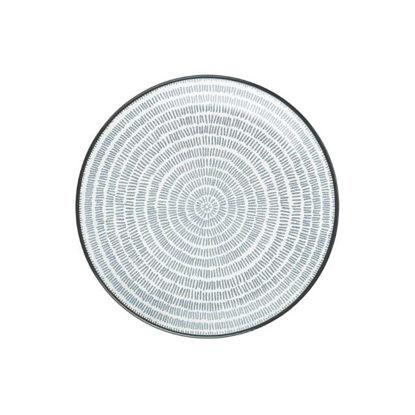 Изображение Тарелка SHINTO Серый O:21.5 см. 10219595