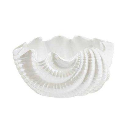 Зображення Миска декоративна SEASIDE Білий 16x16x8 см. 10219634
