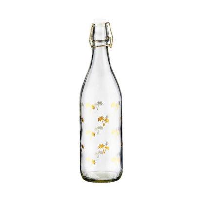 Изображение Бутылка с крышкой TROPICAL Прозрачный V:1000 мл. 10219655