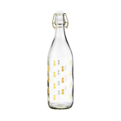 Изображение Бутылка с крышкой TROPICAL Прозрачный V:1000 мл. 10219656