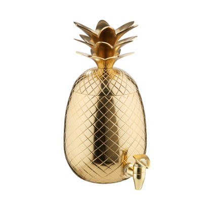 Зображення Диспенсер для напоїв PINEAPPLE Золотий V:4500 мл. 10219666