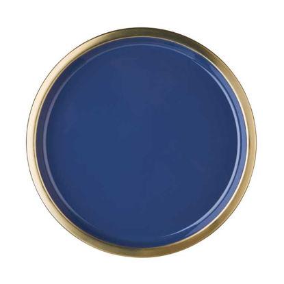 Зображення Тарілка декоративна EMILIE Синій в поєднанні O:32 см. 10219713