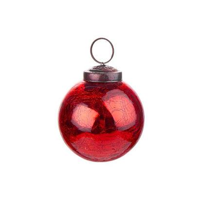 Зображення Кулька ялинкова HANG ON Червоний O:5.5 см. 10219756