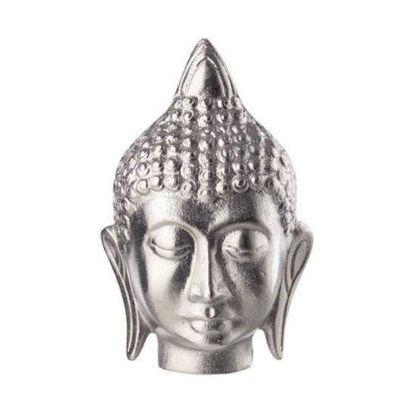 Зображення Фігурка декоративна BUDDHA Срібний 11x10x18 cм. 10219891