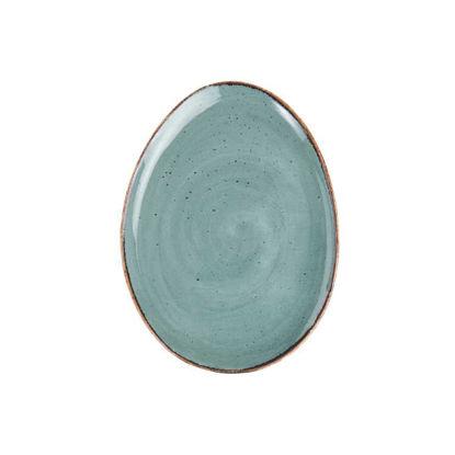 Изображение Тарелка FINCA Зеленый 23x17 см. H:2 см. L:23 см. 10219908