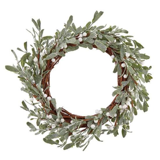 Зображення Вінок декоративний FLORISTA Зелений O:30 см. H:6 см. 10219934