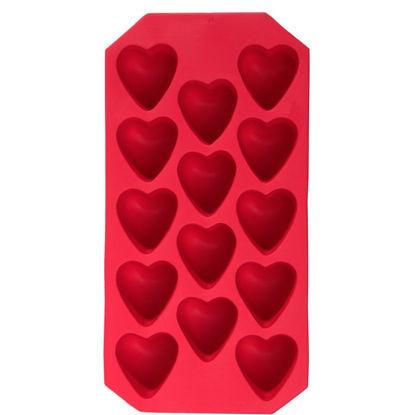 Изображение Форма для льда COOL DOWN Красный 14x9 см. H:14 см. L:14 см. 10220039